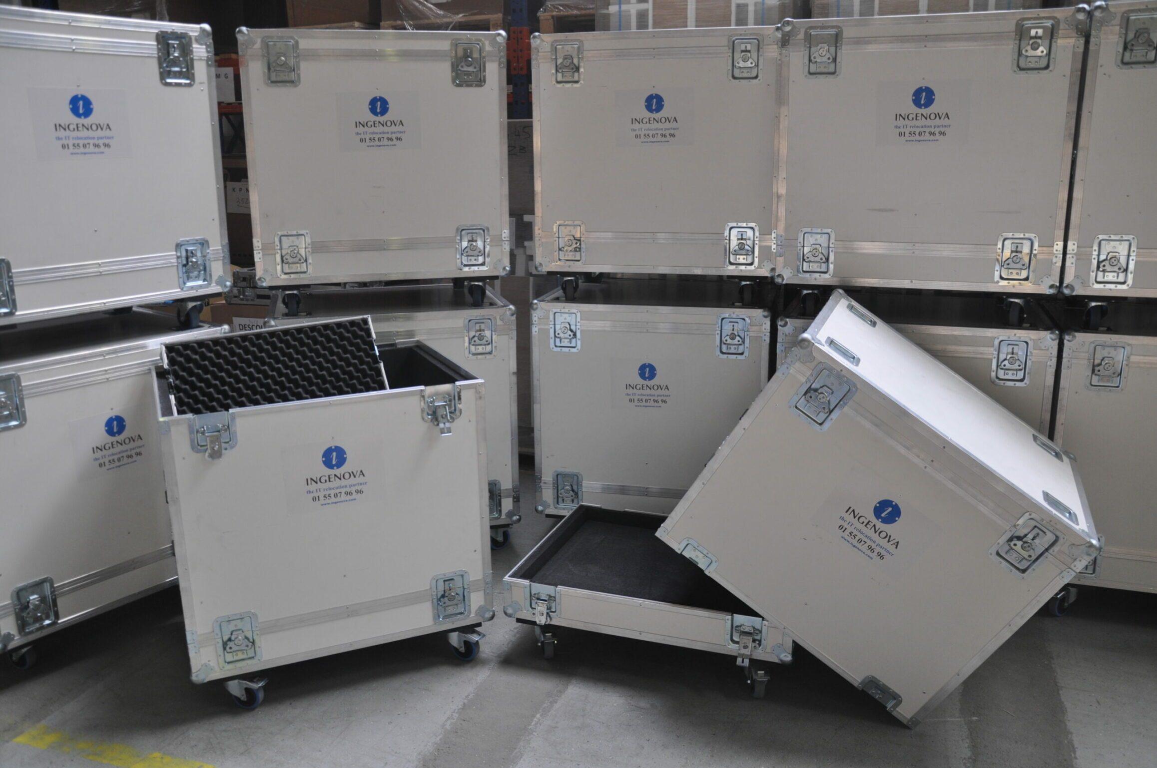 flight cases déménagement transfert datacenter salle informatiques
