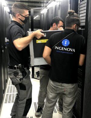 Opération déménagement rackage serveur