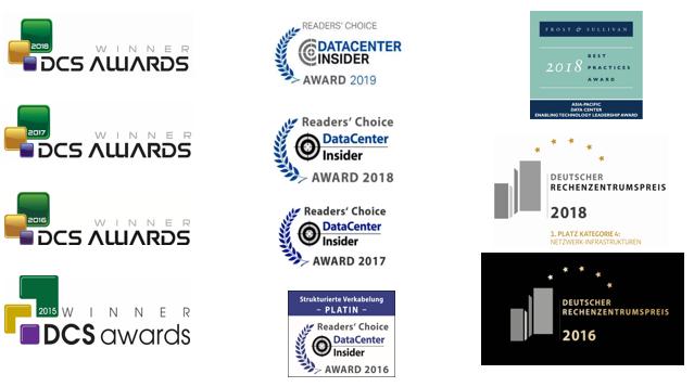 corning award datacenter DCS