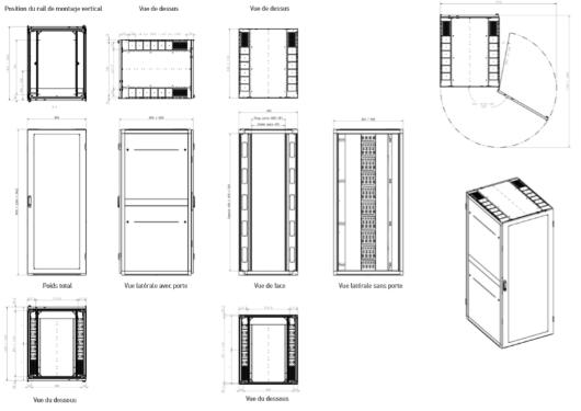 Plan Baie Nexpand Minkels Legrand datacenter