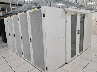 A project for deploying Nexpand cabinets and containments of Minkels